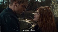"""S2 Ep16 """"Day of Atonement"""" - Yup. We're definitely screaming. #Clace #Shadowhunters"""