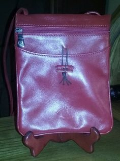 Leather Craftsman Rome Italy Purse