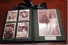 Image result for old fashioned photo album