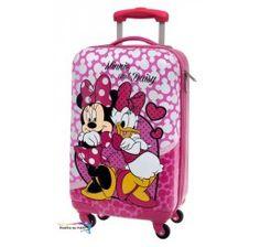 0b5b521ecb648 Cestovný kufor ABS Minnie a Daisy srdce 55 cm Abs, Suitcase, Suitcases, Fit