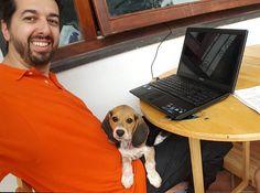 Vita da blogger con #cane. #ruggerolecce www.ruggerolecce.it