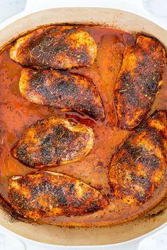 Lemon Garlic Pork Roast - Jo Cooks Chicken Recipes Video, Baked Chicken Recipes, Oven Roasted Chicken Brest, The Best Baked Chicken Breast Recipe, Boneless Chicken Breast, Chicken Breasts, Chicken Thighs, Healthy Chicken Recipes, Cooking Recipes