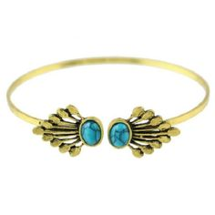 FLASH Sale today only Turquoise open cuff bangle NWOT Jewelry Bracelets