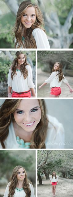 Adorable and classic senior photos. Senior photography | senior girl | outdoor senior photos