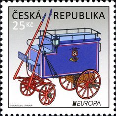 REPÚBLICA CHECA Carruaje Postal