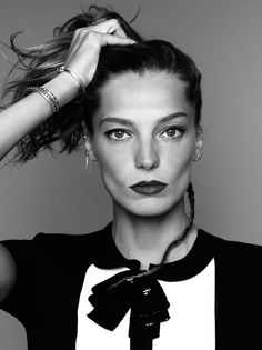 Daria Werbowy for Marie Claire France 2013 by Nico