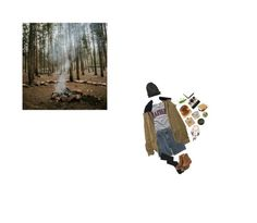 """#416"" by floxpolimon ❤ liked on Polyvore featuring Camp Collection, Earthkeepers By Timberland, Element and Polaroid"