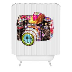 Bianca Green Picture This Shower Curtain