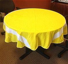 Tennis Ball Tablecloth