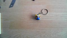 Let's make cute Piglet minion keychain with clay!