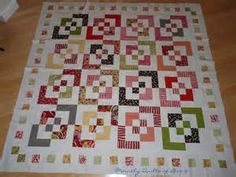 Strip-Pieced Bento Box Quilt Pattern.