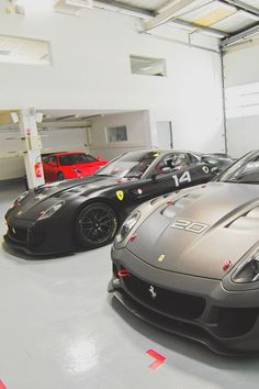 Millionaires park supercars in their LIVING ROOM. This is