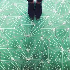 I Have This Thing With Floors - 25 Selfies of Feet On Breathtaking Floor Art