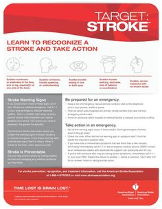 First Aid for Stroke. Learn to recognize a stroke and take action.   Remember that you can find more first aid content in our website: http://insidefirstaid.com/ #first #aid #stroke #medical #emergency #health #paramedics