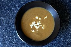 Roasted eggplant soup - so want to try this.