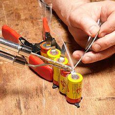 Rebuild a Cordless Tool Battery