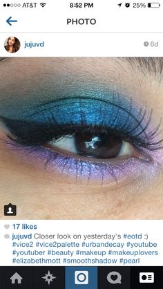 Love this colorful look used the #vice2 palette :)