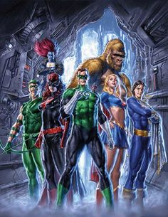 Mauro Cascioli - Justice League