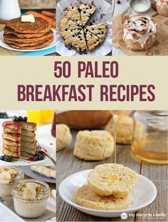 50 #Paleo Breakfast #Recipes