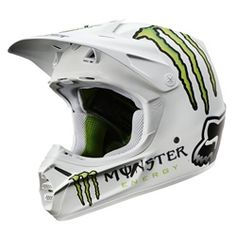 2012 Fox Racing V3 RC Monster Pro Helmet