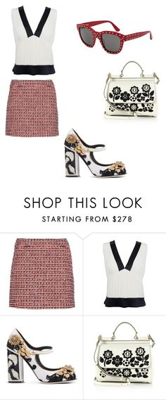 """""""Love style"""" by phamthuquynh on Polyvore featuring dVb Victoria Beckham, Chanel, Dolce&Gabbana and Yves Saint Laurent"""