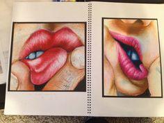 Draw Facial Expression Close up facial expressions Distortion Art, Advanced Higher Art, Close Up Art, Art Alevel, Gcse Art Sketchbook, Observational Drawing, A Level Art, Sketchbook Inspiration, High Art