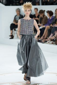haute couture, women, 2015 | Chanel haute couture осень-зима 2014-2015 фото №30