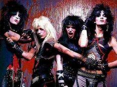 I Mötley Crüe e l'apice del Glam Metal Glam Metal, Big Hair Bands, Hair Metal Bands, Heavy Metal, Nikki Sixx, Blues Rock, Hard Rock, Rock N Roll, Metallica