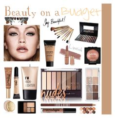 """""""Beauty on a budget"""" by fashionloverlayla ❤ liked on Polyvore featuring beauty, Charlotte Russe, NYX, Lord & Berry, Too Faced Cosmetics, Estée Lauder, Beauty and Budget"""