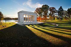 Temple Of Music - Roger Williams Park, Providence, RI  #VisitRhodeIsland