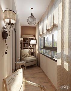 Фото Лоджия - интерьер, квартира, дом, неоклассика, балкон, лоджия, терраса, 0 - 10 м2