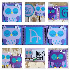 Owl Themed Baby Shower Decoration set. by MyBabyShowerBoutique