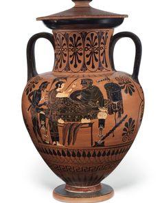 """710 """"Μου αρέσει!"""", 6 σχόλια - Christie's (@christiesinc) στο Instagram: """"In ancient Greece, jars known as amphoras were used to hold liquids and solids, such as wine and…"""""""