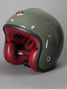 Ruby Helmet Motorcycle Outfit, Motorcycle Helmets, Motorcycle Accessories, Bicycle Helmet, Custom Helmets, Custom Bikes, Ruby Helmets, Indy Car Racing, Vintage Helmet