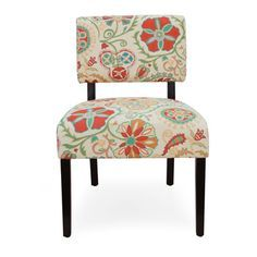 orange and turquoise accent chair - Google Search