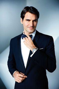 Roger Federer for Rolex #atp #style