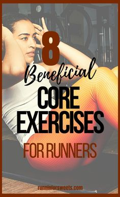 Try the 8 best core exercises for runners to build your running strength. Incorporate a few in your post-run routine, or try this 10 minute core routine once a week. #coreexercises #runningcoreworkout #coreworkout