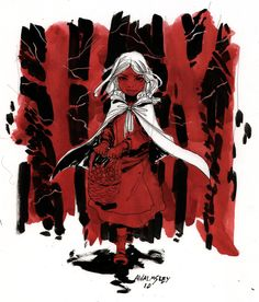 Little Red Riding Hood by Walmsley.deviantart.com