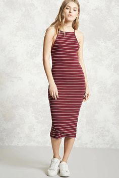 Product Name:Stripe Bodycon Dress, Category:Dresses,