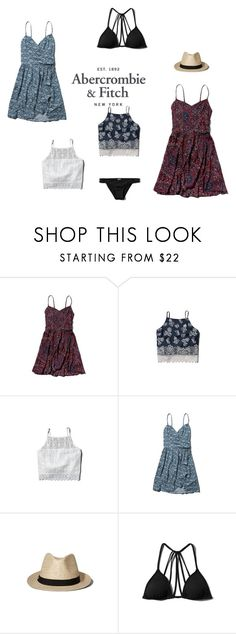 """""""The A&F Summer Getaway Giveaway: Contest Entry"""" by pandatheod ❤ liked on Polyvore featuring Abercrombie & Fitch"""