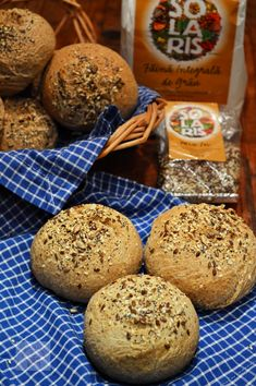 Le Gin, Muffin, Doughnuts, Hamburger, Food And Drink, Cooking Recipes, Bread, Breakfast, Health
