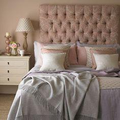 Rose and quartz bedroom