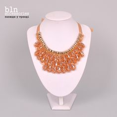 Масивне золоте кольє в магазинах BLN accessories / Massive gold necklaces in stores BLN accessories