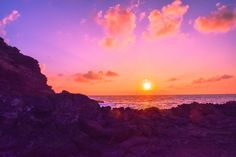 Hawaiian Sunset Photo Diary - In need of a virtual vacation? Here is a collection of Hawaiian sunset photos to daydream about until your next tropical trip! Our Adventure Book, Hawaiian Sunset, I Want To Travel, Photo Diary, Sunset Photos, Dream Life, Egypt, I Am Awesome, My Photos