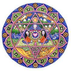 Heart - 4th Chakra Mandala, via Flickr.