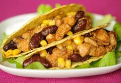 Taco Pizza, What To Cook, Tex Mex, Nachos, Meat Recipes, Guacamole, Hamburger, Food And Drink, Mexican