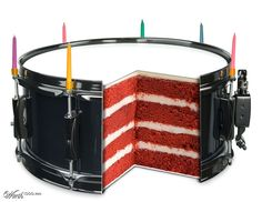 Drummer's Cake - Worth1000 Contests