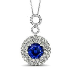 Add this stunning white and blue sapphire cubic zirconia necklace to your Jewellery collection. Only €85 from our DiamonFire Collection at Rocks.ie #dublinjewellers #irishjewellers #graftonstreet #stillorgan #ladiesfashion #summerfashion #fashionaccessory #necklace #giftidea #forher