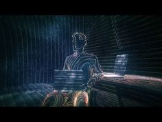 Cinema 4D Tutorial - Creating the Ghost in the Shell HUD Effect with Sketch & Toon - YouTube