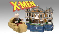 Proposed LEGO X-Men X-Mansion Set Is Bigger Than Wayne Manor, Crazier Than The Death Star